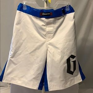 Gameness Trunks Blue White Size 32